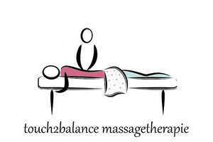 Logo touch2balance massagetherapie